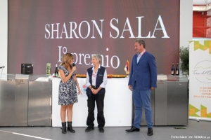 Consegna del premio primo classificato expo 2015 sharon sala