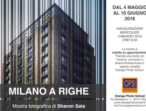 Milano a Righe – Personale maggio-giugno 2016